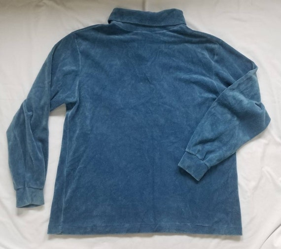 Vintage Rike's Velour Pullover Sweater - image 3