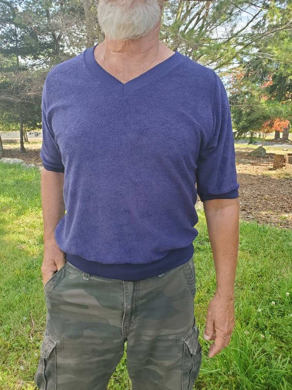 Men's Terry Cloth shirt