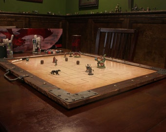 The Encampment - A Portable Dry Erase playing surface for tabletop role playing games