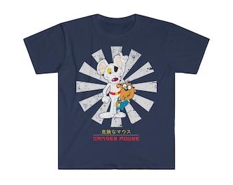 Danger Mouse British TV Series Cartoon Film Funny Men Women Unisex T-shirt 908