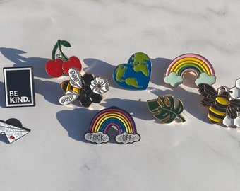 Funky Pin Badges