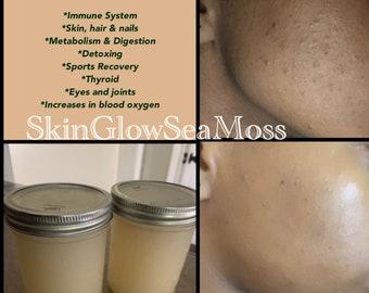 SkinGlowSeaMoss (16oz Fresh Organic Sea Moss Gel - Original)