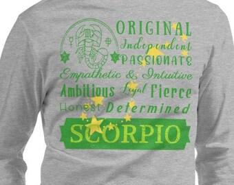 Zodiac November Birthday Scorpio Traits Scorpio King Queen Birthday Month Shirt Birthday Gift November Birthday Scorpio Birthday Shirt