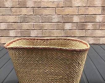 Natural Grass Baskets|Handwoven African basket| Plant Basket | Gift Basket| Storage| Organization| Boho Home Decor