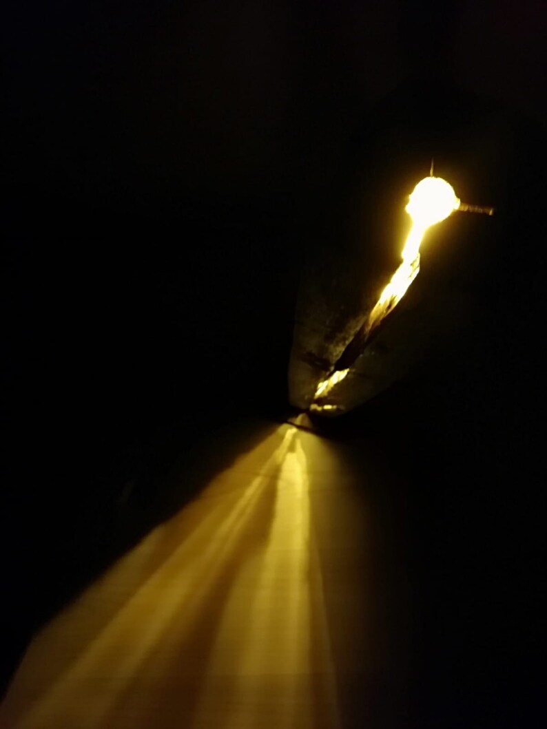 Stehlampe Holzlampe Wohnzimmer Lampe Retro-Lampe Akzent | Etsy