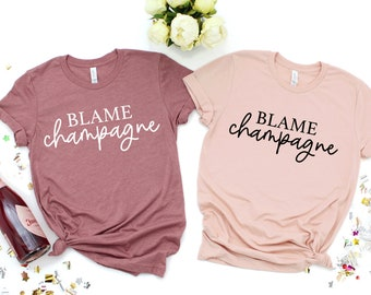 Mom and Baby Matching Breastfeeding Shirt Champagne is always the Answer Milk is always the Answer Wine Shirt