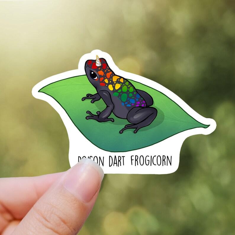 Frogicorn sticker