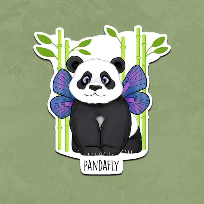 Pandafly sticker