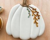 Tall Pumpkin Cookie Cutter/Fondant Cutter, Pumpkin Cookie Cutter, Fall Cookie Cutter, Wonky Pumpkin Cookie Cutter