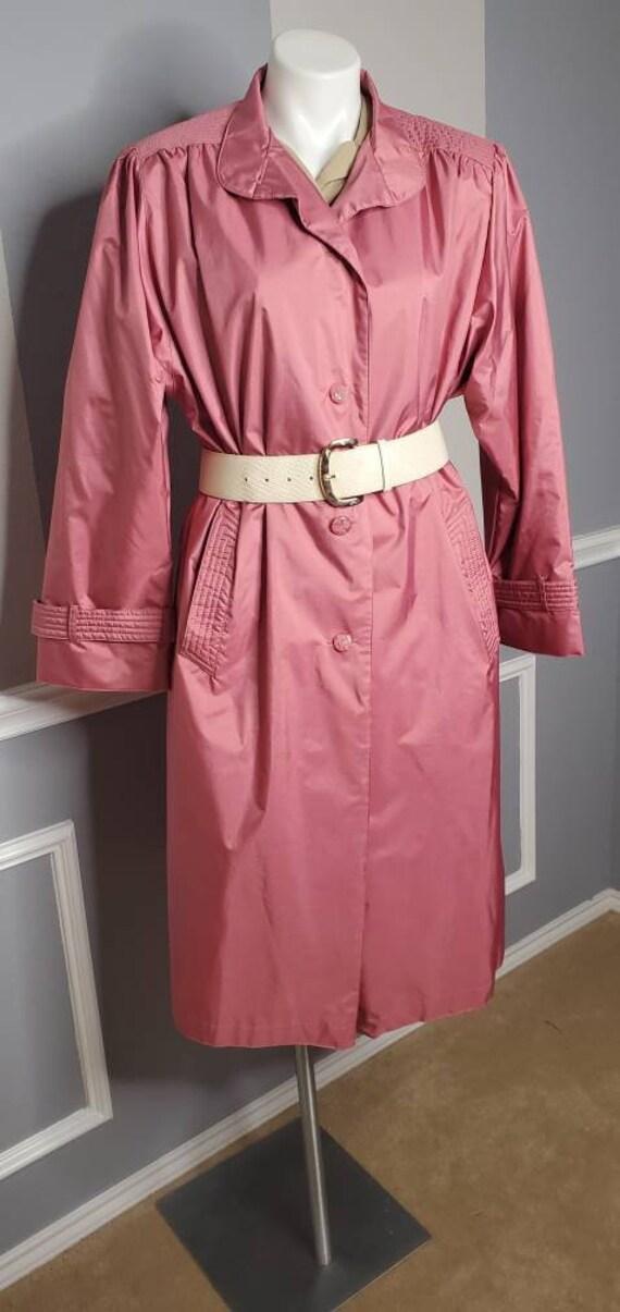 Long Trench Coat, Vintage Long Coat