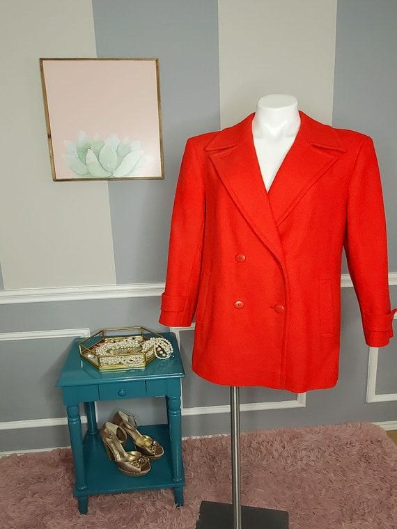 Pendleton Coat, Pea Coat Women, Long Wool Coat Wom