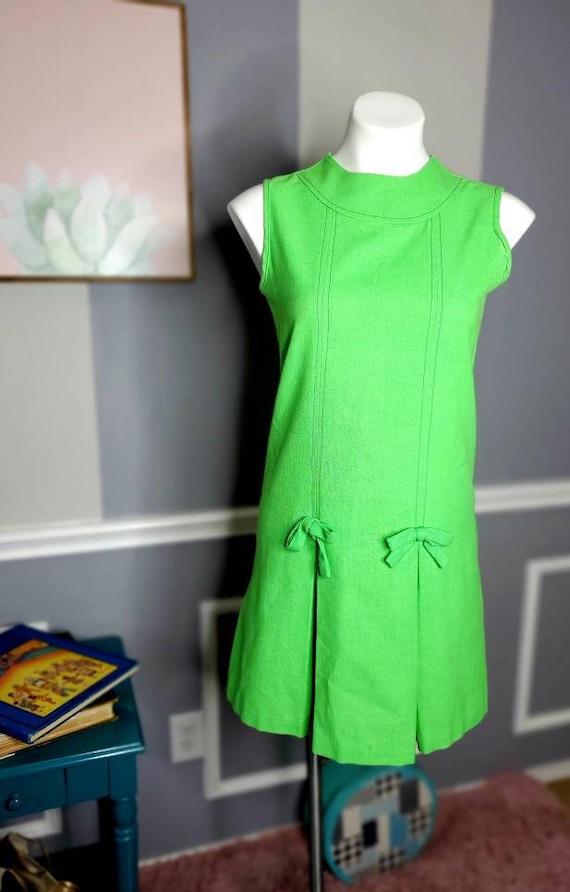 60s Chiffon Dress, 70s Chiffon Dress, Vintage Dat… - image 1