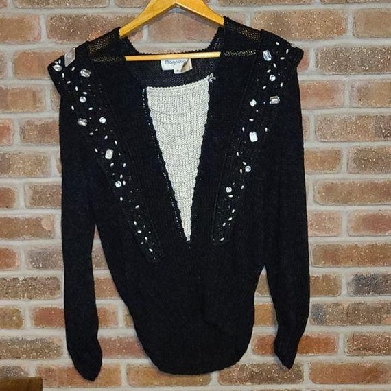 Vintage Magnolia Sweater Ugly