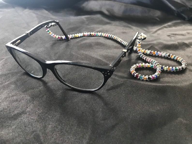 3-in-1 Necklace Eye Glasses /& Mask Holder