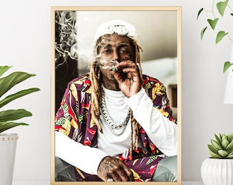"Lil Wayne Weezy poster wall art home decor photo print 16/"" 20/"" 24/"" sizes"