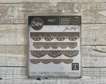 659428 gently used FREE SHIPPING Sizzix Tim Holtz Alterations Chevron  Frameworks die