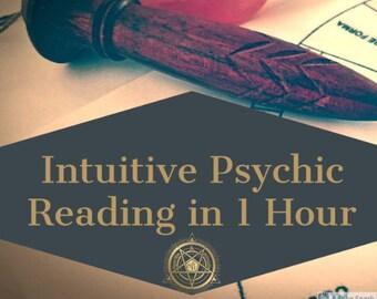 MEDIUM Psychic Reading in 1 HOUR