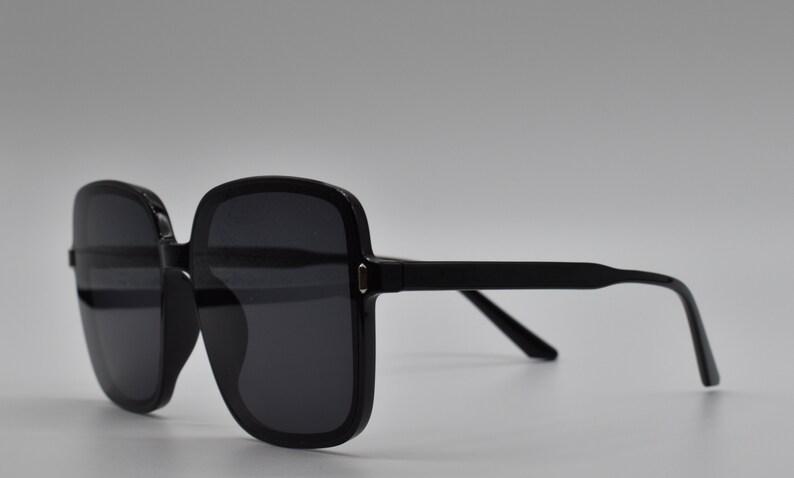 Luxury Vintage Oversized Sunglasses