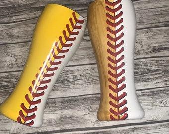Baseball and softball tumblers