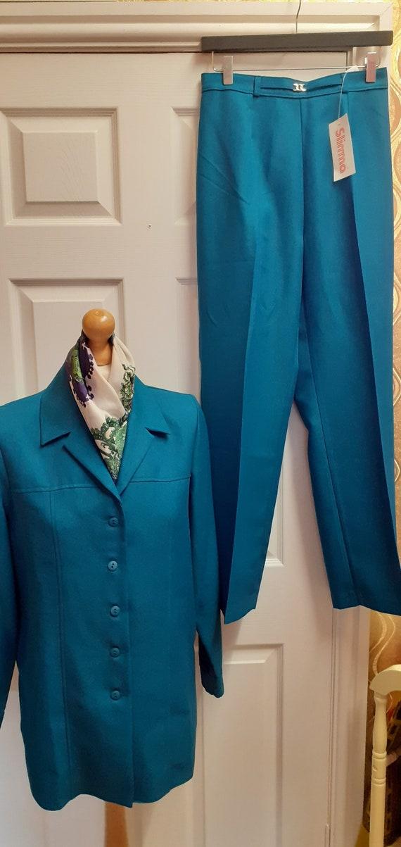 1960's Style Vintage Trouser Suit