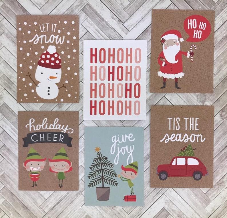 christmas card making kit christmas crafts for adults diy
