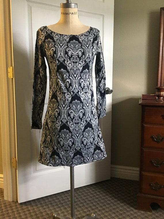 Vintage Brocade TRIPP  Dress. Woman's L/XL