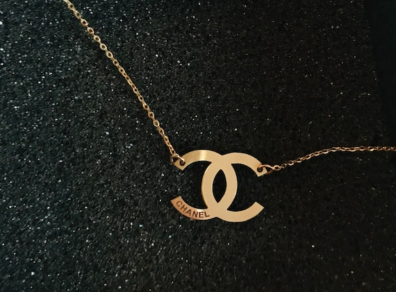 Chanel necklace 14k gold
