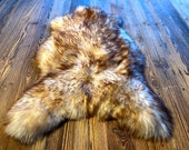 Sheepskin throw Animal Hide Rug Sheepskin Seat Cover Natural Faux Fur Rug Mothers Day Pelt Housewarming Gift Scandinavian Decor
