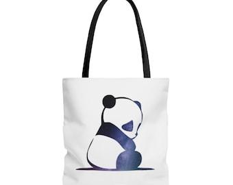 Galaxy Panda Tote Bag