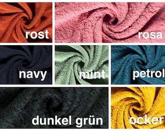 Cotton Teddy Fabric (Teddy Fleece) Oekotex