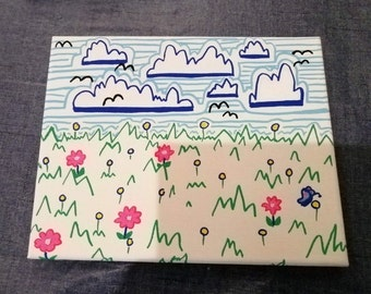 Simple Landscape Painting