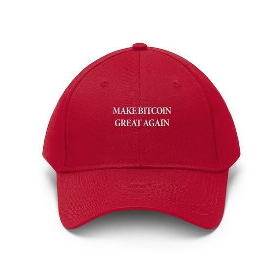 Make Bitcoin Great Again MAGA Hat