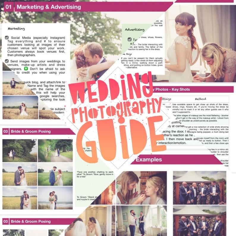 Wedding Photography Guide / Course / Training & Wedding image 0