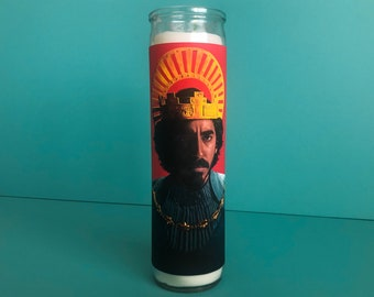 The Green Knight A24 Dev Patel Candle