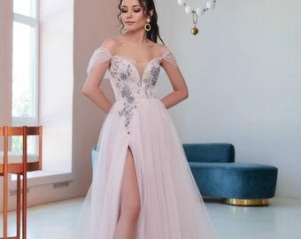 Belle Wedding Dress Etsy