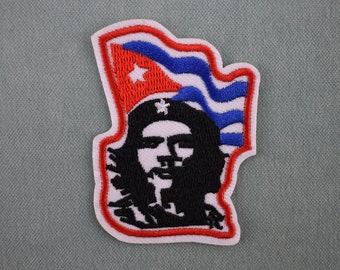 Che Guevara Iron On Patch 10 x 8cm Badges Patch Motif Cuba Cuban Leader P592