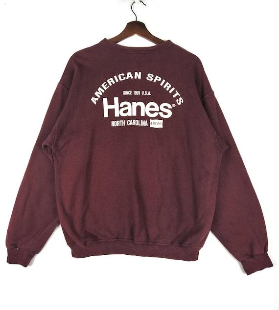 Vintage Hanes American Spirit Big Logo Sweatshirt
