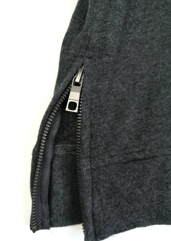 Zaraman Nice Design Side Zipper Gray Colour in si… - image 2