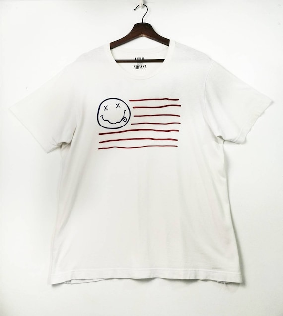 Nirvana Band Vintage Big Logo Shirt