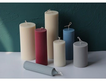150mm 2x Good Quality Candle Mold Pillar Moulds Plastic Candle Making 100mm