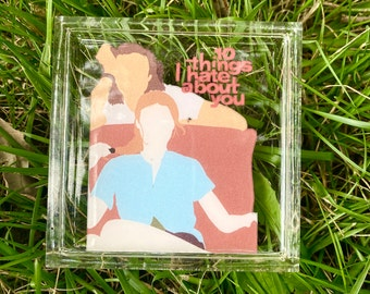 10 Things I Hate About You Movie Poster Resin Coaster