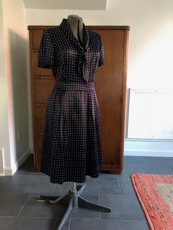 Pendleton Silk & Cotton Vintage Sailor Dress