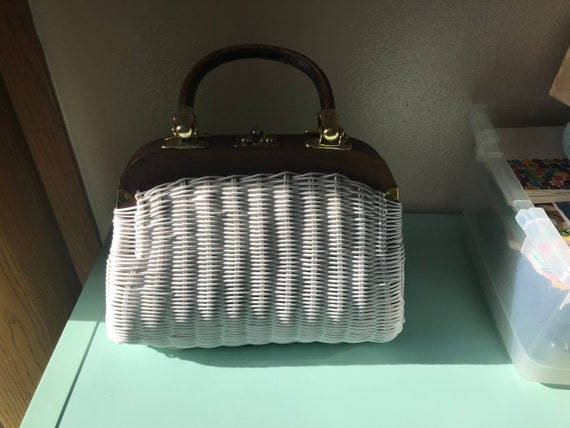 White Vintage Handbag