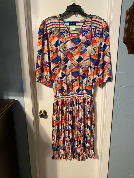 Vintage 1980s Diane Freis Dress