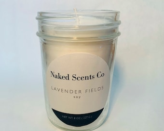 Lavender Fields Soy Wax Candle