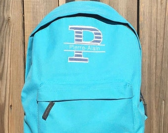 Personalized kindergarten backpack