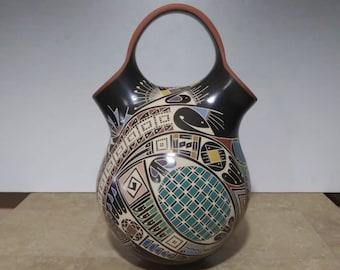 Quezada Pottery Mata Ortiz G Javier Jr