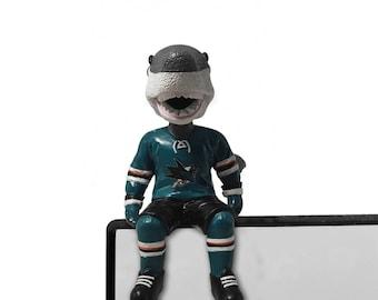 San Jose Sharks SJ Sharkie Bobble Buddy