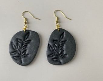 floral jewelry polymer earrings Pressed flower earrings gifts for women gifts for girls jewelry under 15 polymer clay earrings