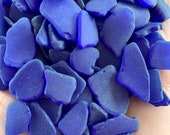 Cobalt Blue Sea Glass Authentic from Florida Beaches Real Tumbled Beach Glass Bulk 5-300 Pieces Seaglass FREE SHIPPING